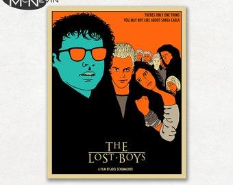 THE LOST BOYS, Movie Poster, Fine Art Print (colour version)