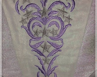 Stomacher - Embroidery Designs Set for 18th Century Costume