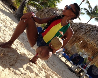 Rasta Swimsuit *On Sale*