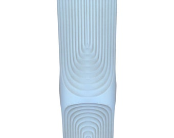 Vintage White Modern Vase