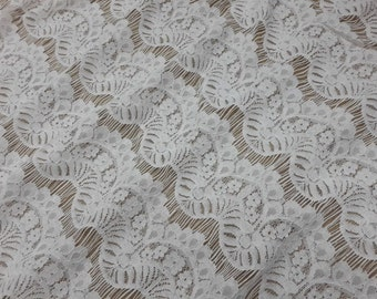 Black Eyelash Lace Fabric by the Yard or Wholesale for dress,bone lace fabric