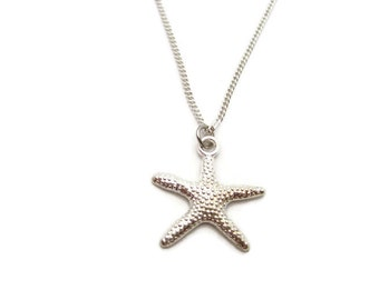 Starfish Necklace Ocean Necklace Ocean Jewelry Starfish Jewelry  Beach Jewelry Beach Necklace Gifts For Her Choose Your Chain