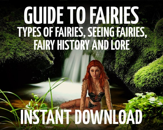 how to see fairies spell