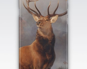 Case for iPhone 8, iPhone 6s,  iPhone 6 Plus,  iPhone 5s,  iPhone SE,  iPhone 5c,  4s  - The Monarch of the Glen by Sir Edwin Landseer