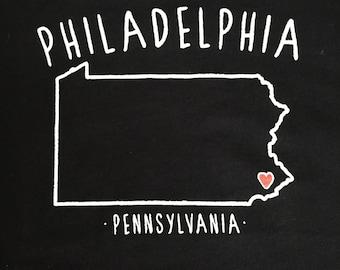 Philadelphia, PA onesie