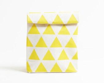 Kamibukuro/Scale-Dandelion/paper bag shape multipurpose pouch, travel goods organizer