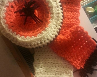 Fall   Barret and Scarf Set