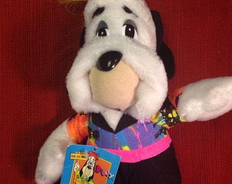 Droopy Plush 1989 with tag