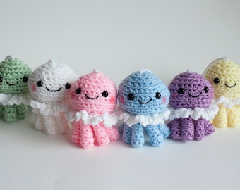 Princess Jellyfish Inspired Crochet Doll