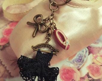 Mini tutu key ring
