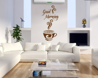 Wall Sticker Good Morning