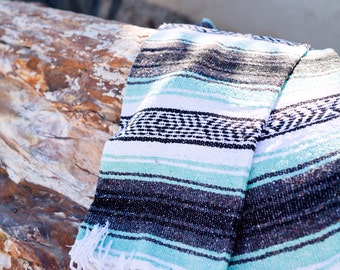 Mint Mexican Blanket