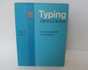 Typing Book - Flip learn how to type  book- 1970