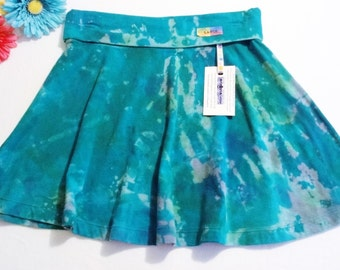 """Be Everything! """"Airy!"""" Hand-Dyed Large Yoga Style Tie Dye Maxi Skirt! Wear over leggings,shorts, or swimwear!"""