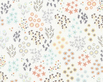 1/2 Yard Timeless Treasures Lily Tiny Flowers   designed by Alice Kennedy