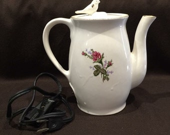 """Electric Tea pot with """"Whistle"""""""