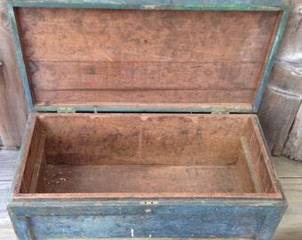 Antique Running Board Toolbox