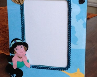 Princess Jasmine inspired picture frame