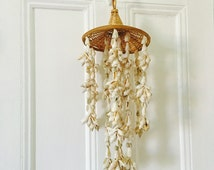 Straw and Shell Wind Chime