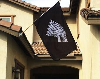 Game of Thrones Stark Sigil Banner Flag