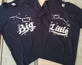 Big/Little Dipper Sorority Reveal Shirts