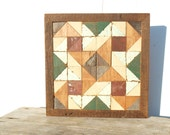quilt wall hanging, barn quilt , salvaged wood wall decor