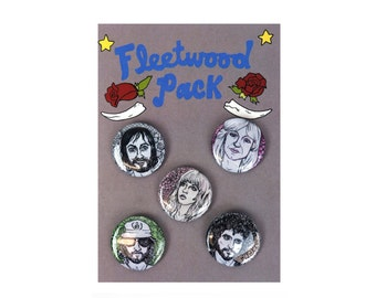 Fleetwood Pack of Buttons