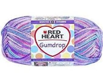 Red Heart Gumdrops - Grape US import
