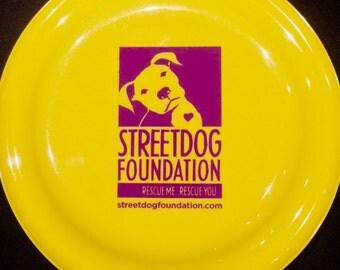 Streetdog frisbee