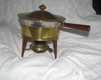 vintage chafing dish