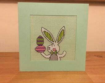 Handmade Easter Bunny Card
