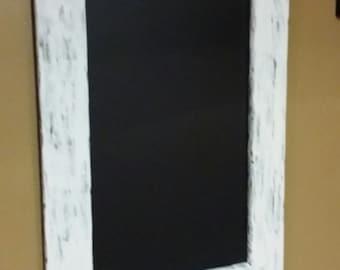 Rustic Distressed chalkboard  30 x 21, Rustic decor,,menu  board, guest sign in  , wedding guest sign in board, Blackboard, Office Board