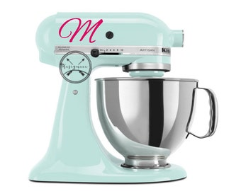 Kitchen Aid Mixer Monogram Letter - Two Initials Included