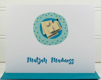 Passover Card, Jewish Holiday Card, Matzah Card, Funny Passover Card, Husband, Brother, Father, Son, Nephew, Uncle, Grandfather, Boyfriend