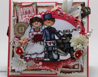 Wedding couple Card