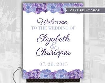Wedding poster welcome sign, wedding printables, large wedding sign, welcome to our wedding, 16x20 welcome sign, wedding poster printable