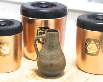 Vintage 60's 70's  Ceramic  Vase Jug  West  Germany