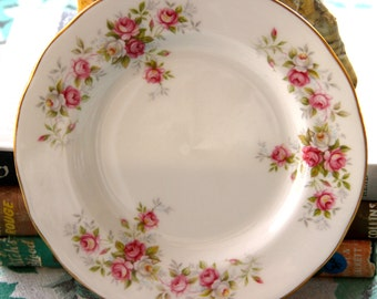 "Vintage Duchess Bone china , ""June Bouquet""  Side Plate"