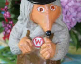 RARE Vintage Retro Wombles Tobermory  Hard Plastic Toy