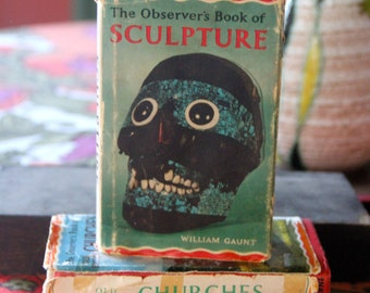 The Observers Book of Sculpture  - WILLIAM GAUNT First Edition 1966