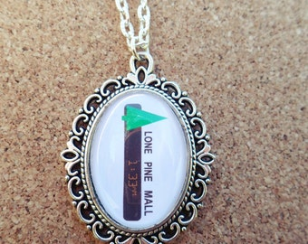 Back to the Future Inspired Lone Pine Necklace
