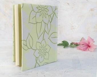Lime Green Guest Book , Wedding Sign In Book , Sketchbook , Blank Journal , Recipe Book , Notebook
