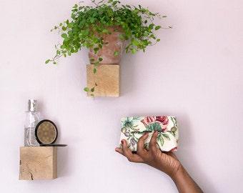 the English flowers - Brown polka dot make-up kit