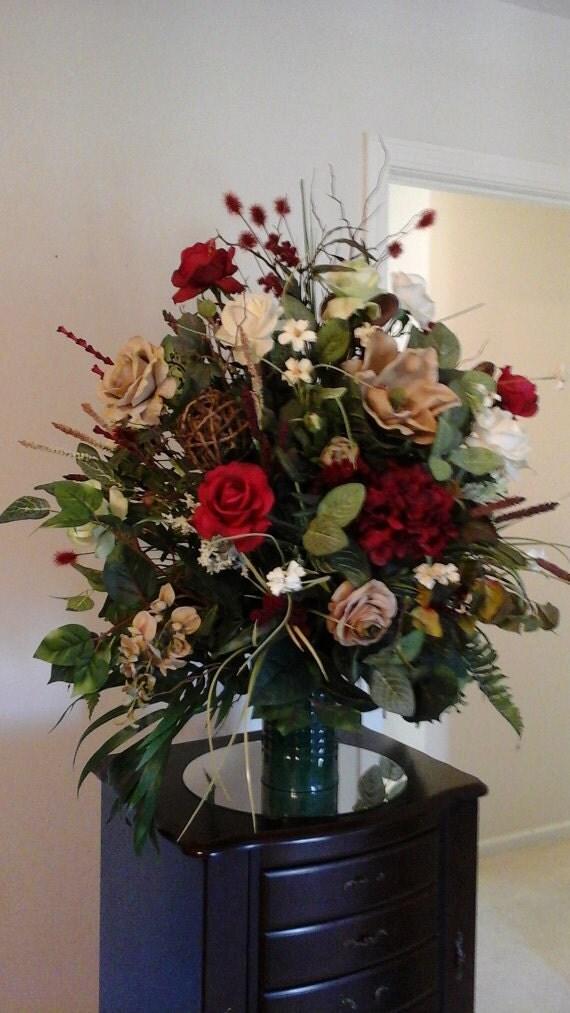 Large Arrangement For Foyer : Floral arrangement insert shipping included elegant luxury