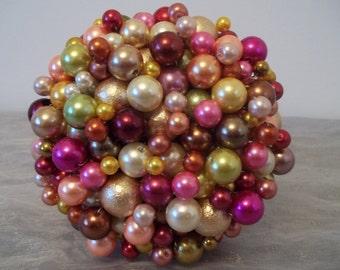 Bright Bead Bouquet. Christmas Bouquet/ Christmas Decoration.
