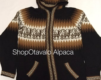 Brown Alpaca sweater