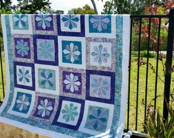 Handmade Single quilt or Sofa throw
