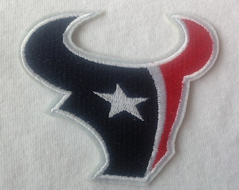 Football Sport Team Houston Texans Iron On Patch