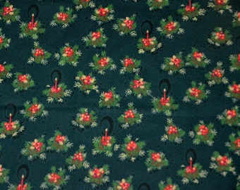 Christmas Collection Japanese Fabric , Christmas Collection Fabric, Green
