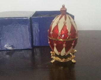 "Atlas Edition ""Harlequin"" Faberge Egg"